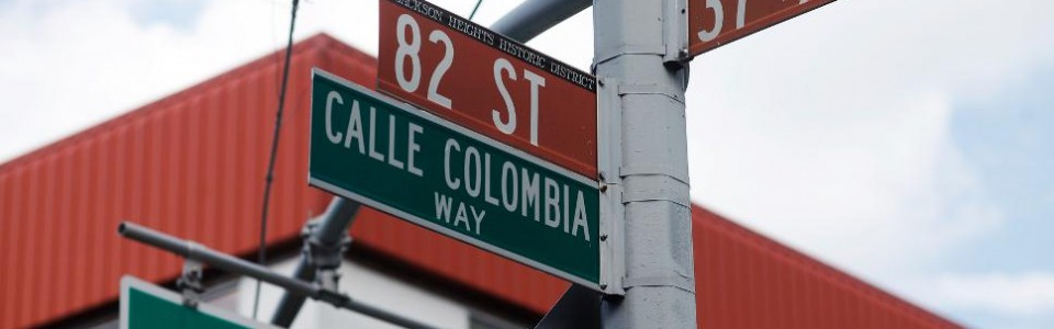 82nd Street 37 Ave signs