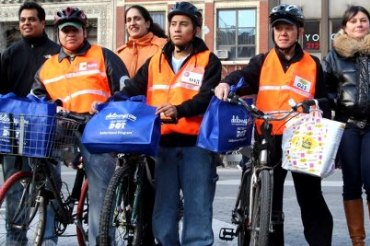 DOT delivery cyclists